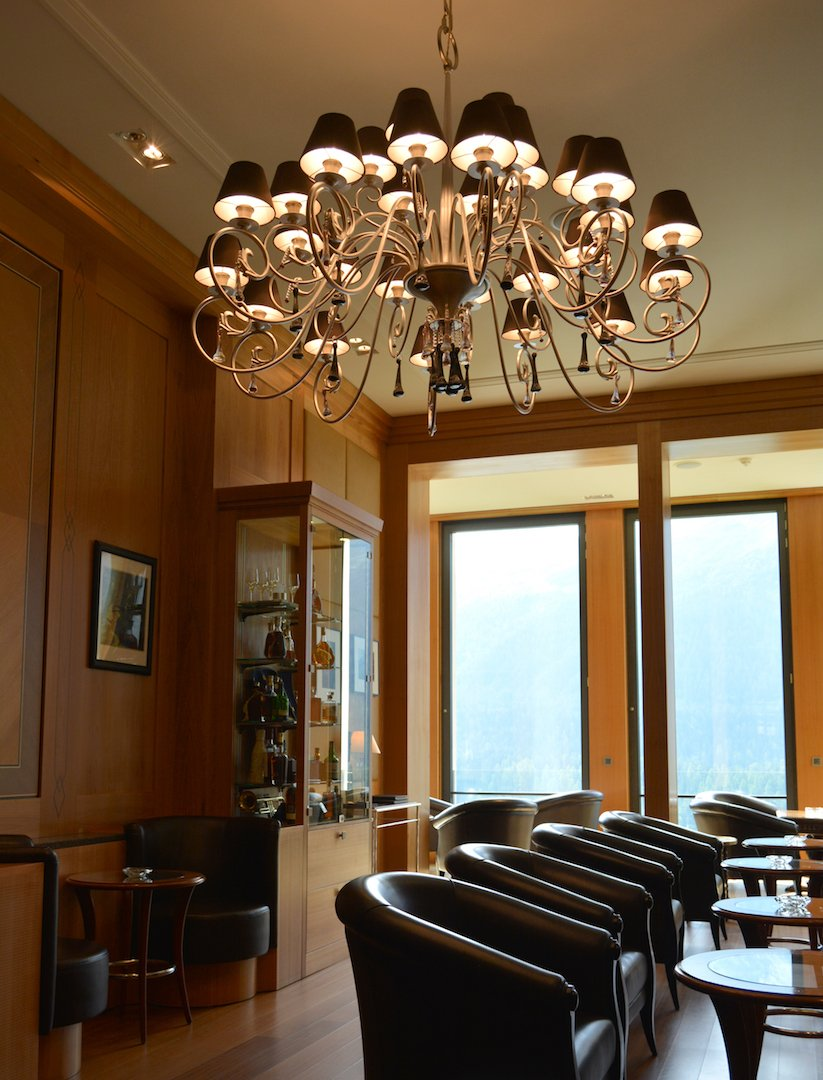 Kulm Hotel - Miles Davis smoking room