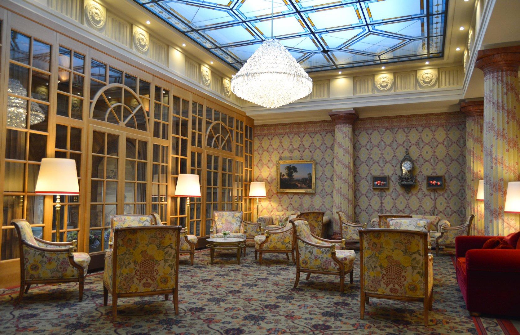 Kulm Hotel - lobby