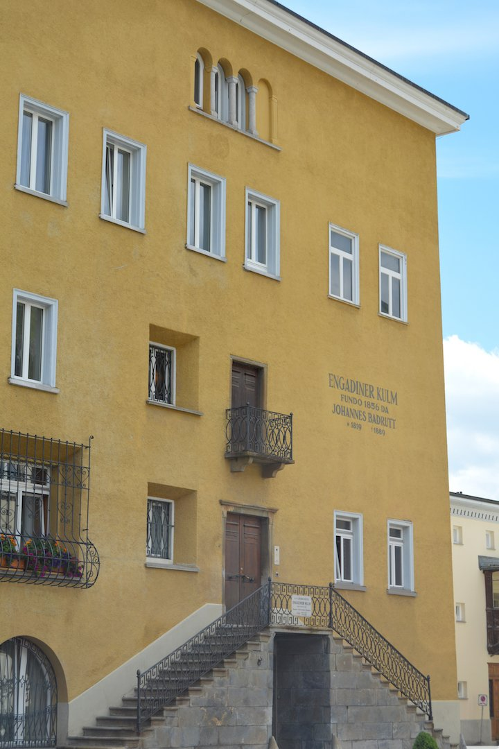 Kulm Hotel - original building
