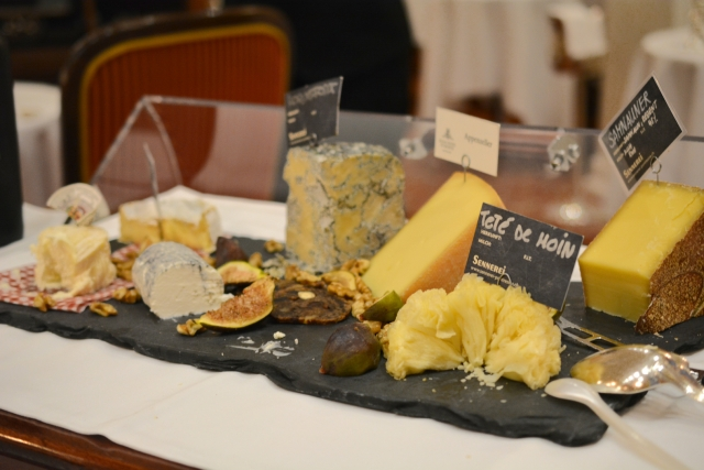Kulm Hotel - Cheese in Grand Restaurant