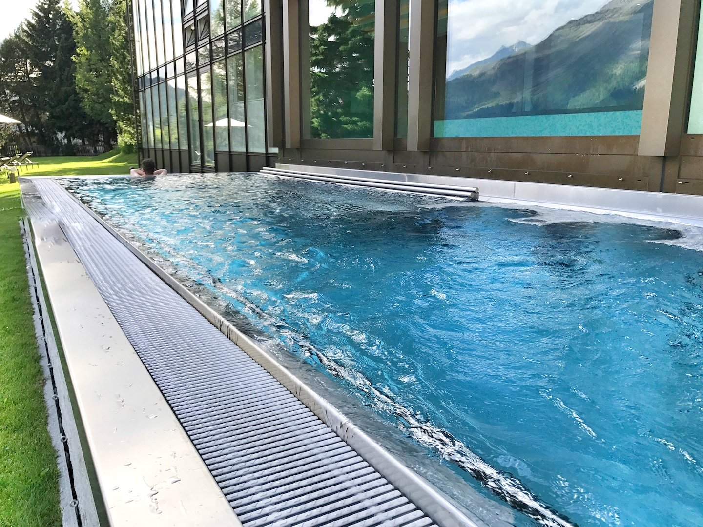 Kulm Hotel - outdoor pool
