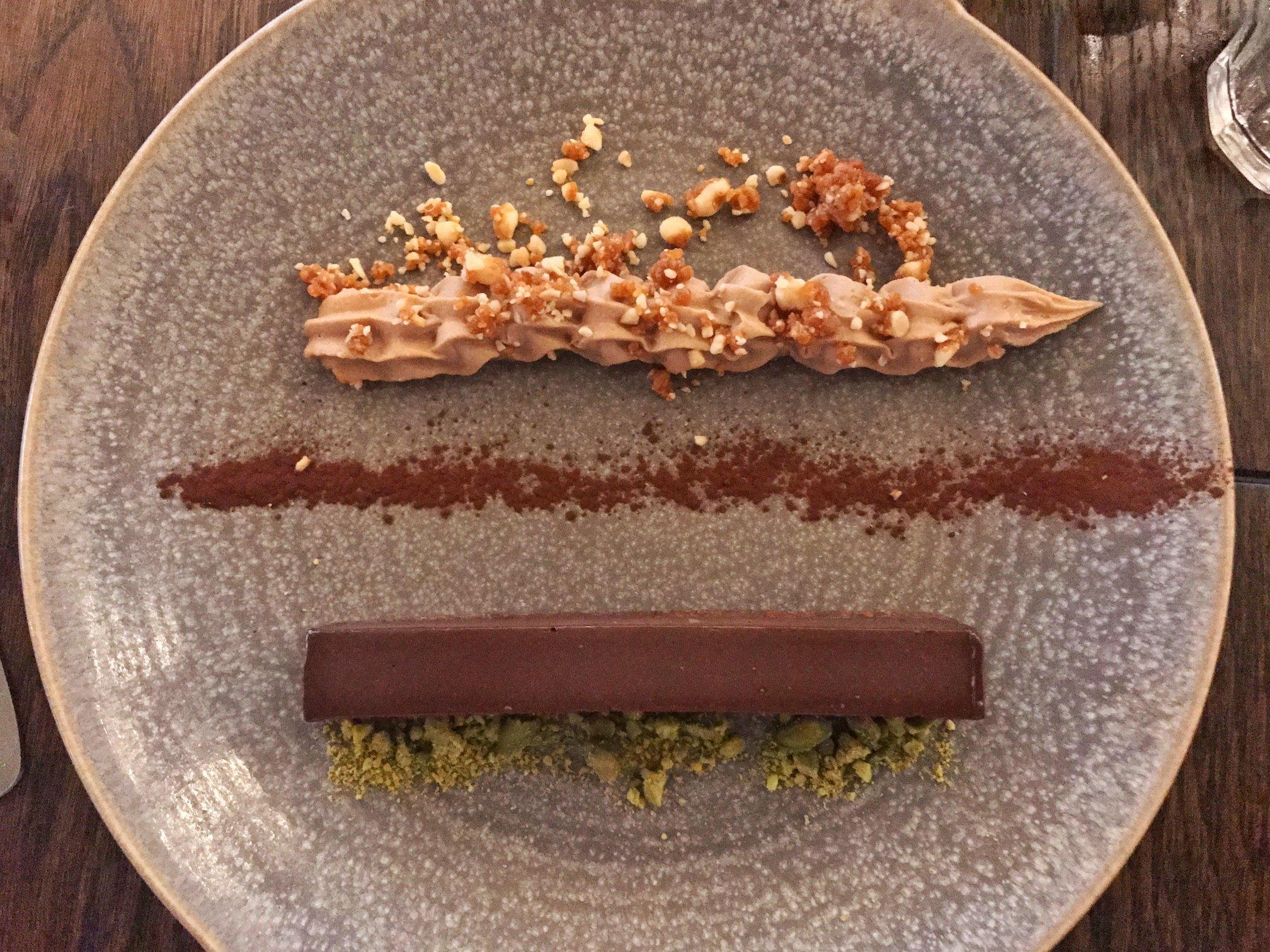 Brasserie Blanc - chocolate delice
