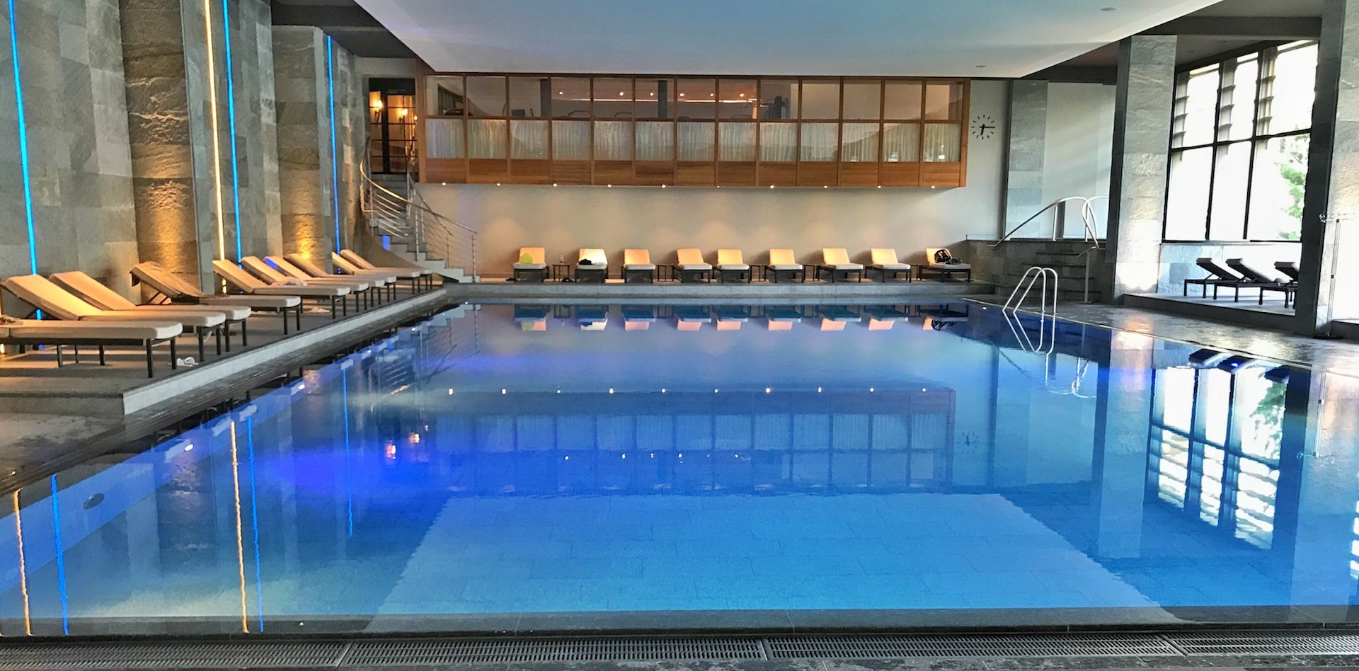 Kulm Hotel - indoor pool