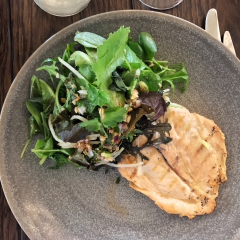 Brasserie Blanc - green papaya salad