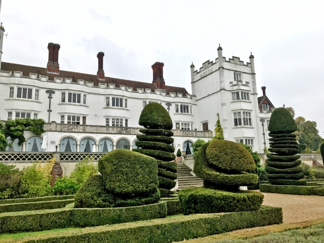 Danesfield House - topiary
