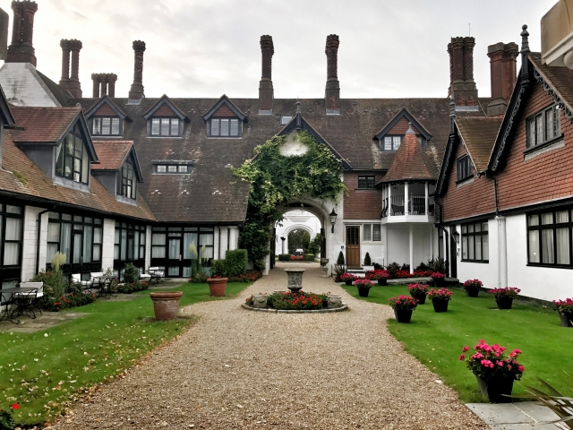 Danesfield House - Stable courtyard