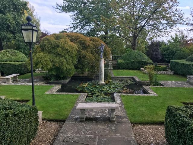 Danesfield House - Italian gardens