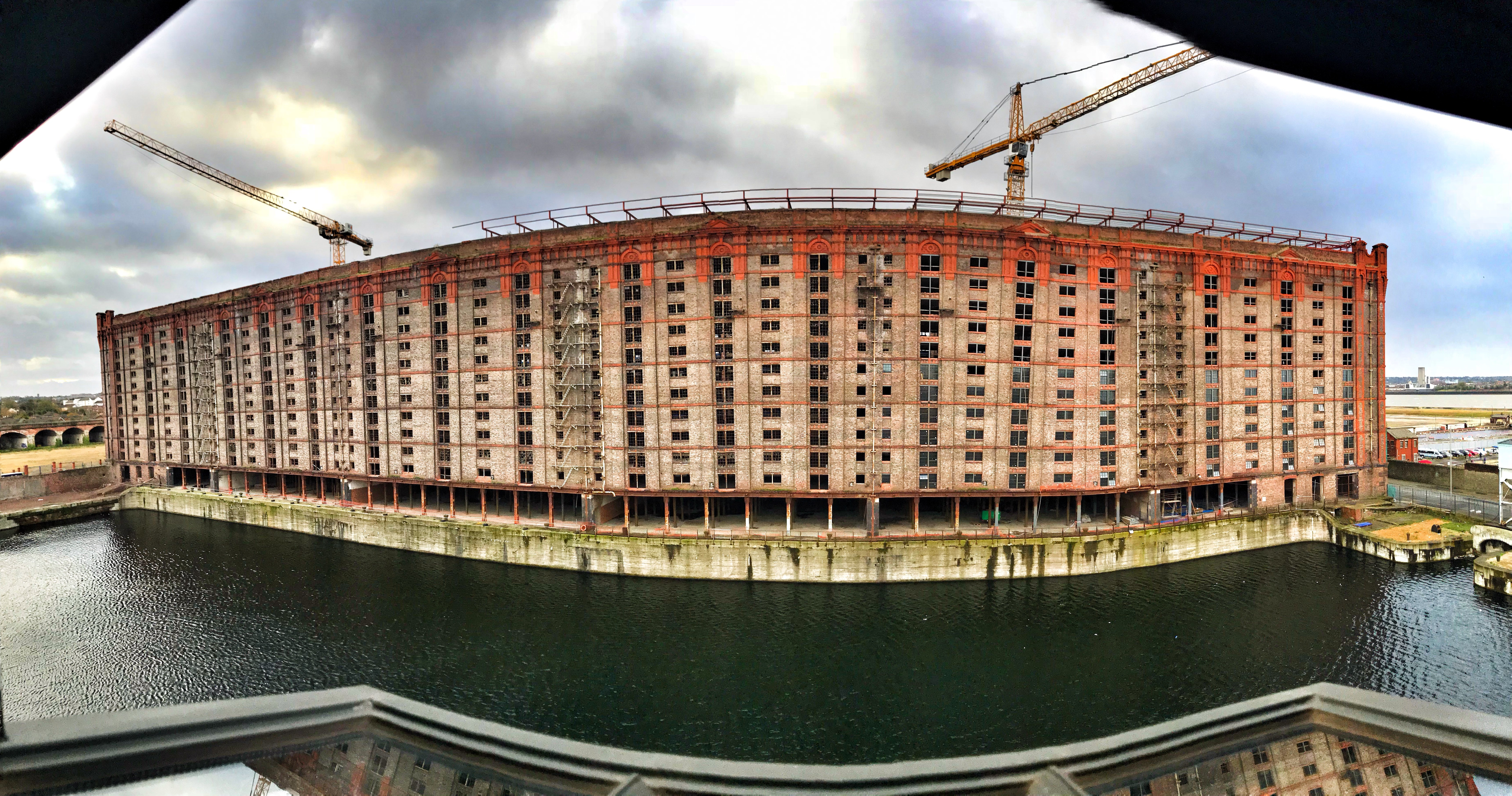 Titanic Hotel Liverpool Lyster Suite - view