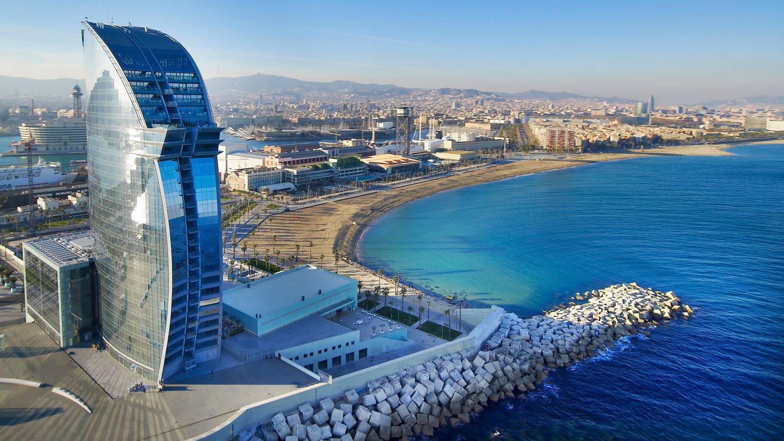LGBT travel guide Barcelona - W Hotel