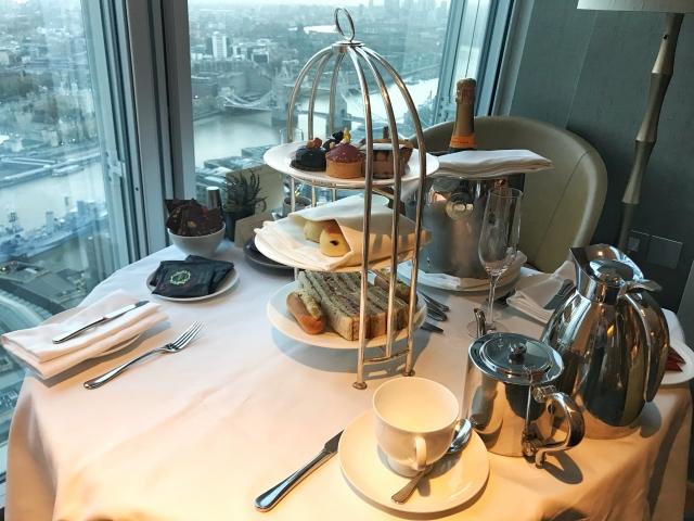 Shangri-La The Shard hotel Afternoon Tea