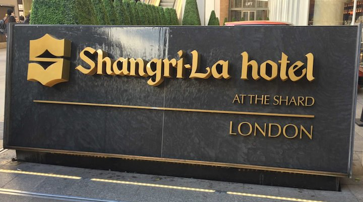 Shangri-La The Shard London luxury hotel