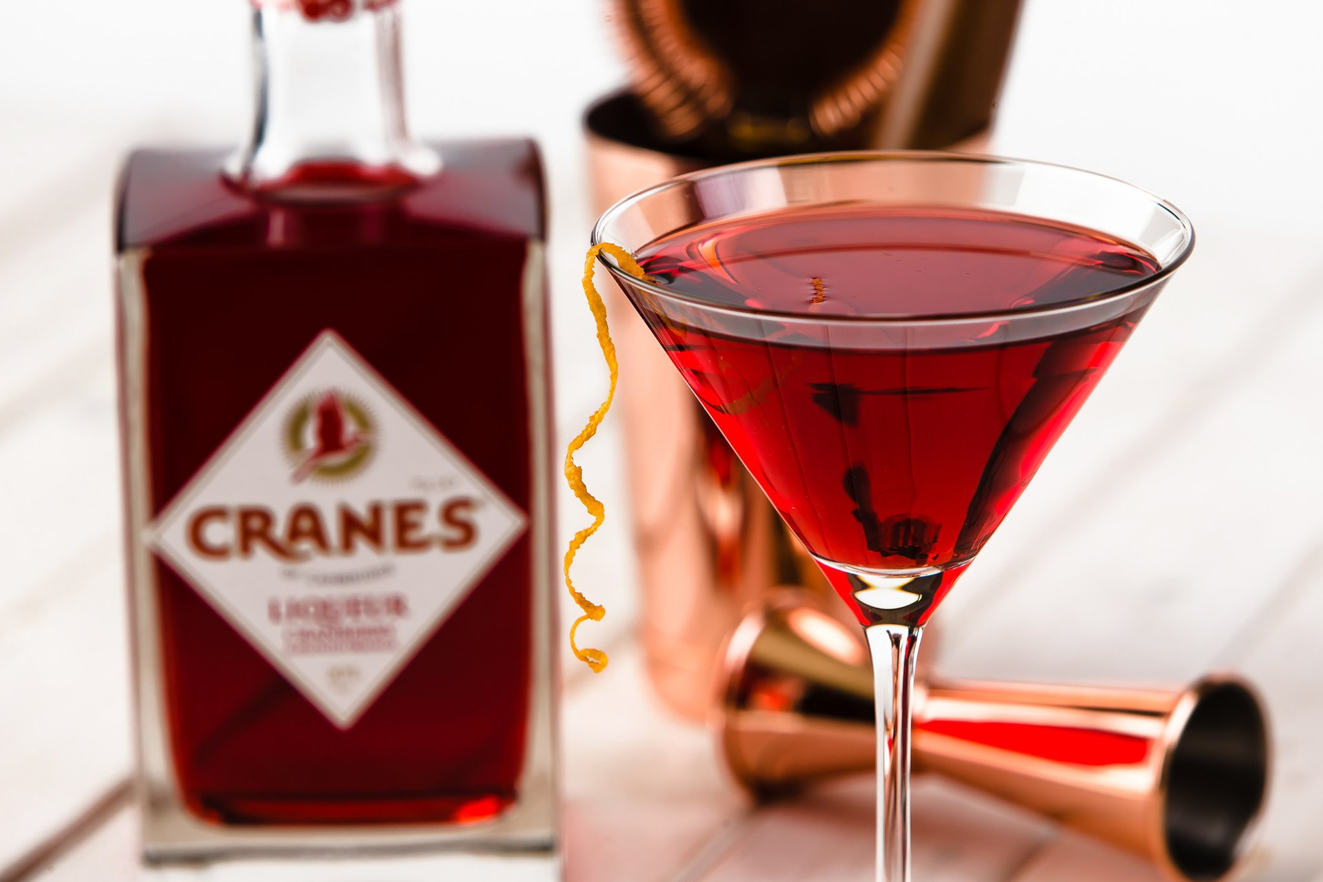 Vada's foodie Christmas gift guide 2017 Cranes Liqueur