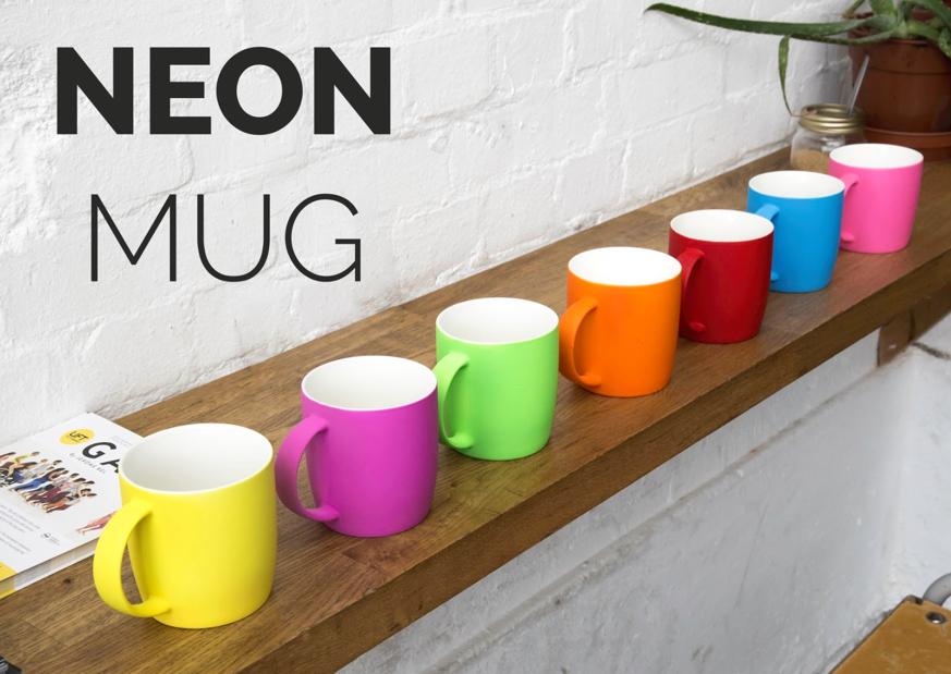 Vada's foodie Christmas gift guide 2017 Neon Mug