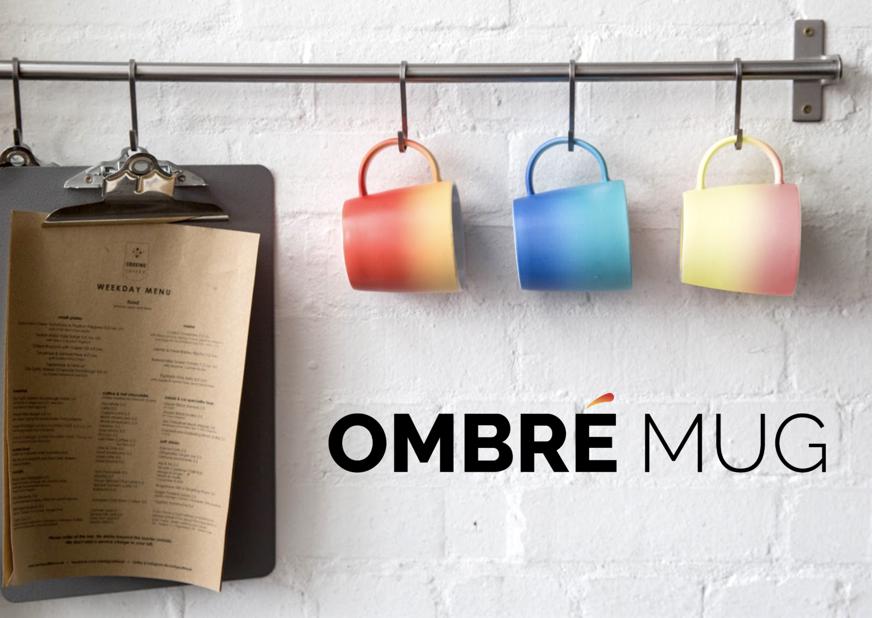 Vada's foodie Christmas gift guide 2017 Ombre mug