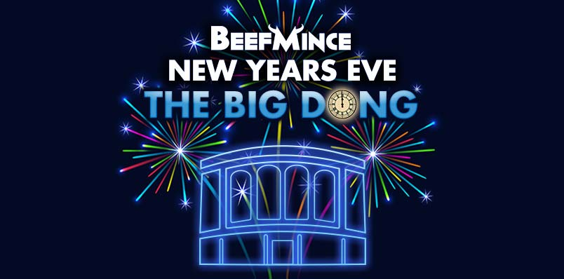 London 2018 New Year's Eve party BeefMince Royal Vauxhall Tavern RVT