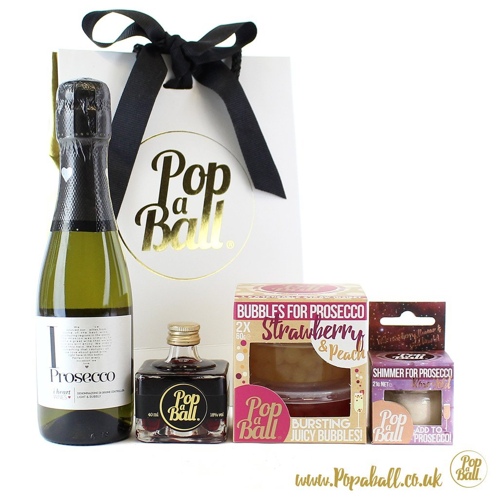 Vada's foodie Christmas gift guide 2017 pop a ball prosecco