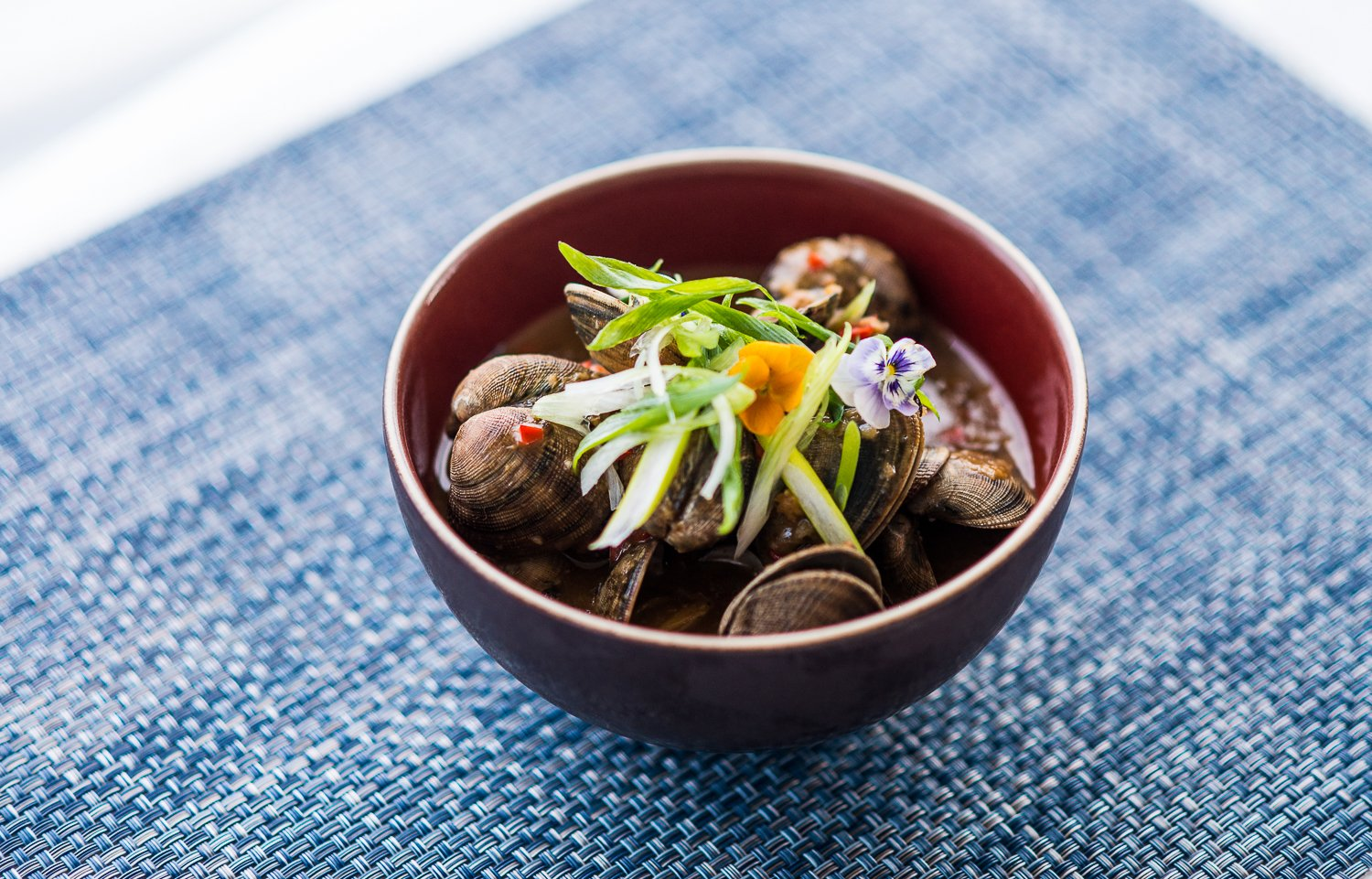 Shangri-La Hotel The Shard London Chinese New Year A Sea of Wealth - Clams in Shrimpy Hot Black Bean Sauce