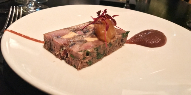 Avenue Restaurant - starter - Duck Terrine