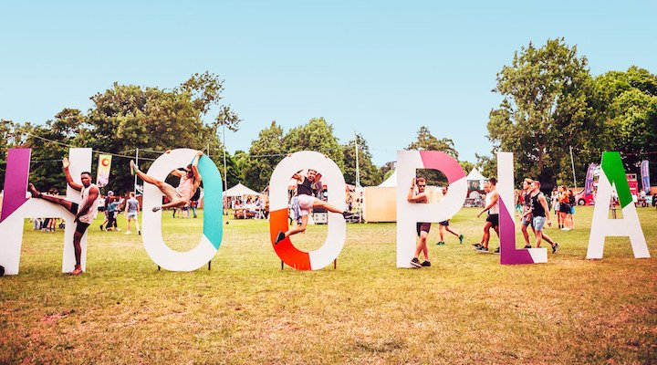 Mighty Hoopla TLC Brockwell Park London 2018 - photo credit: www.lukedyson.photography