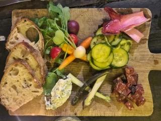 Foodchain Elephants Head pub Hackney mutton chorizo