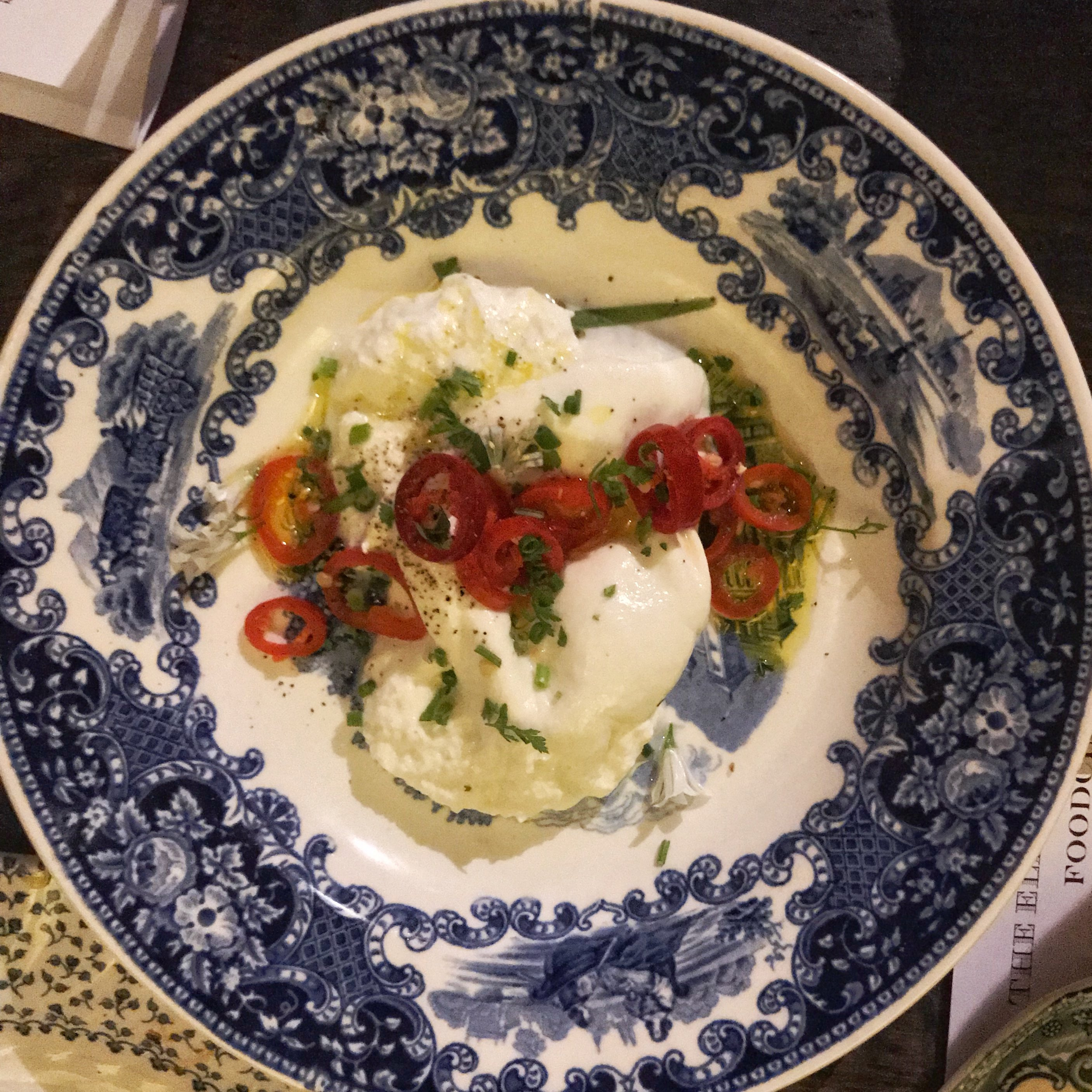 Foodchain Elephants Head pub Hackney burrata