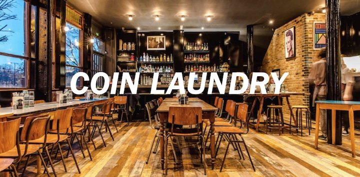 Cocktails London Coin Laundry