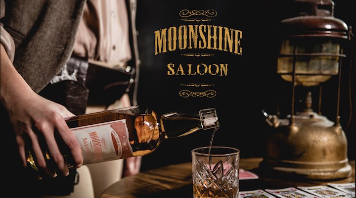 Moonshine Saloon London immersive cocktails