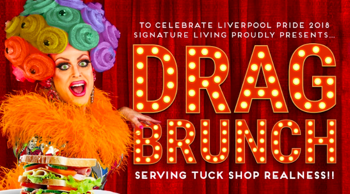 Drag Brunch Cunard House Signature Living Liverpool Pride