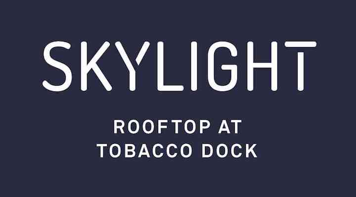 Skylight rooftop london summer