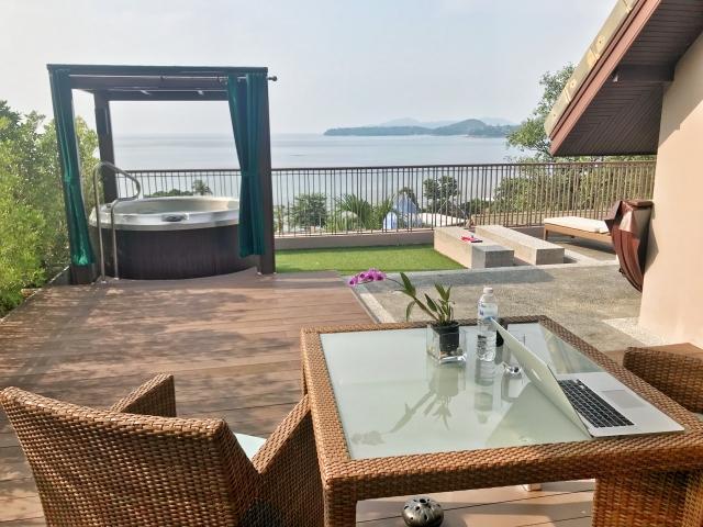 Hyatt Regency Phuket ocean view terrace room