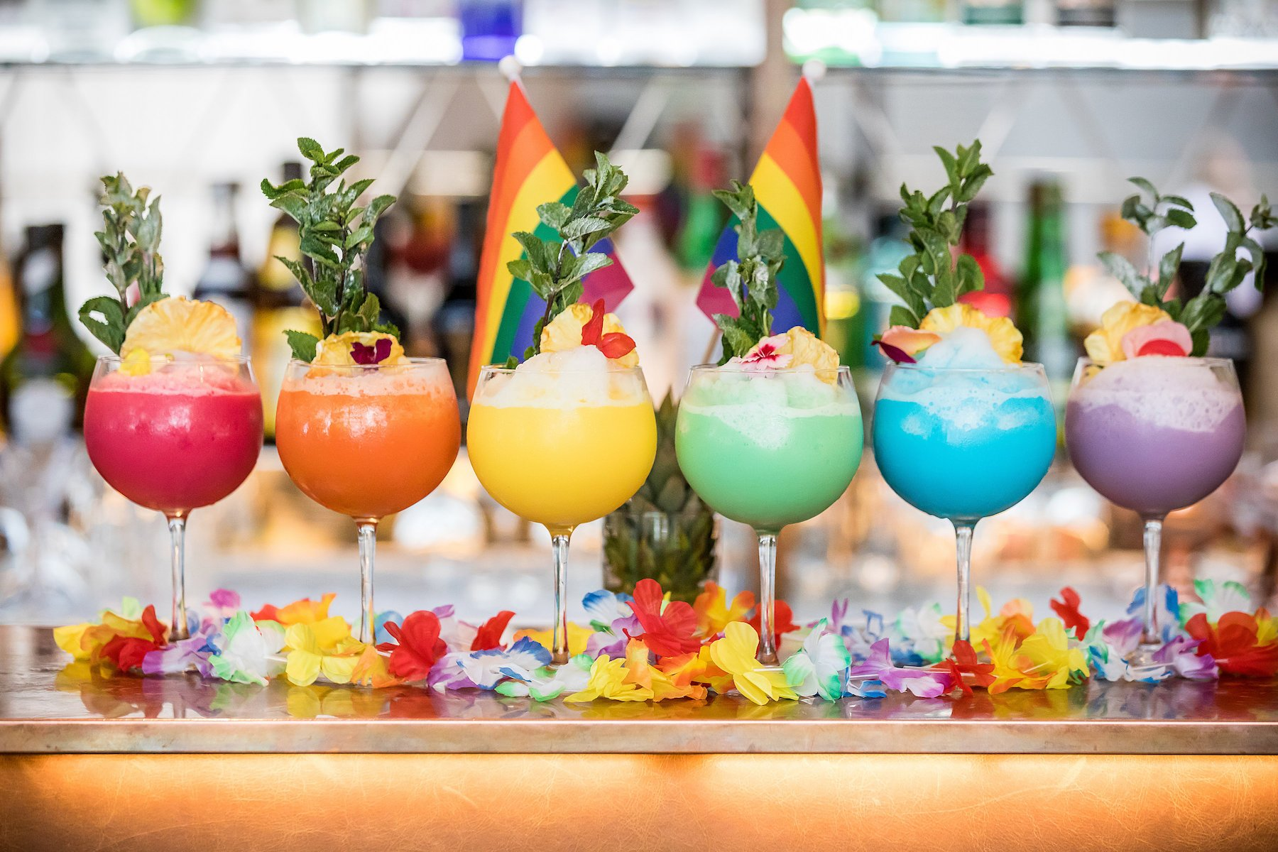 Pride in London 2018 Pride Colada cocktail Hilton