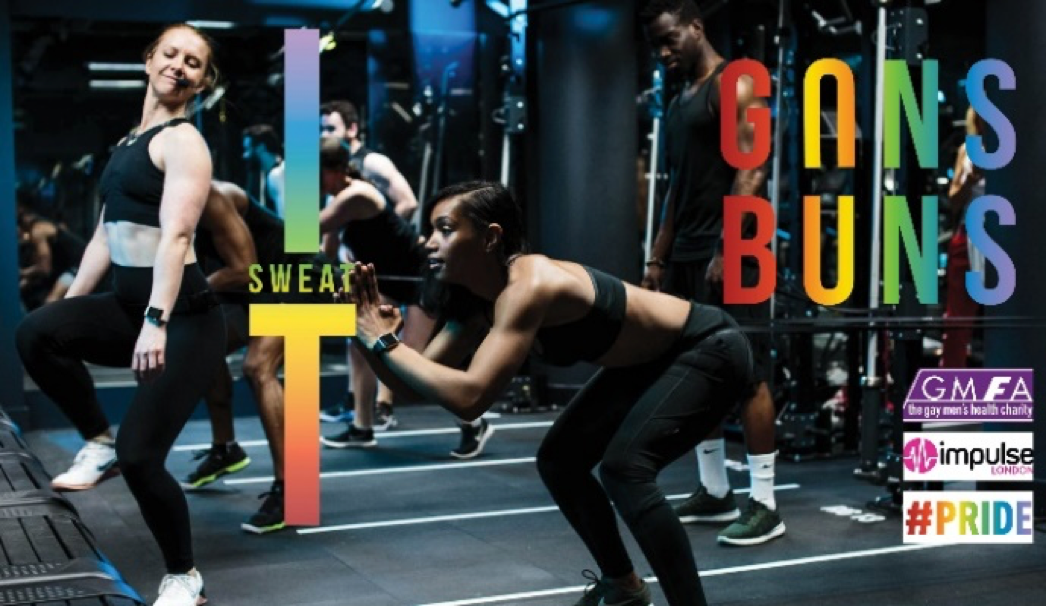 Pride in London 2018 Sweat It Guns & Buns workout