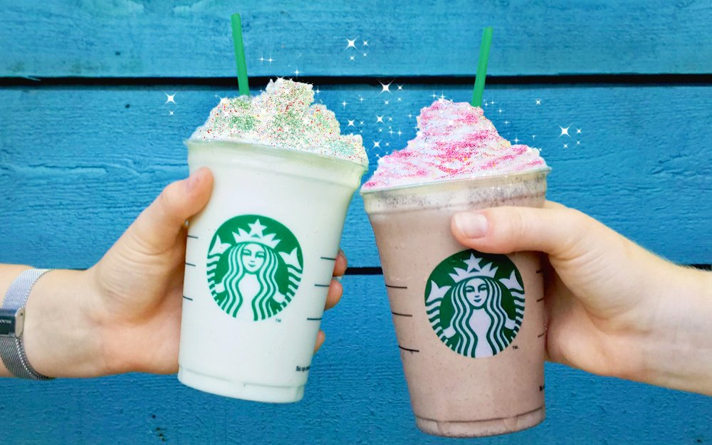 Pride in London 2018 Starbucks glitter Frappuccino