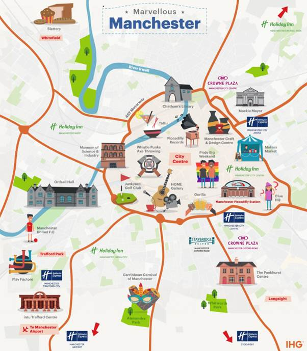 IHG Manchester travel discount