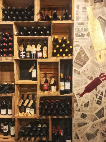 Bottles Old Spitalfields Market London