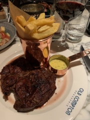 Old Compton Brasserie Steak Frites