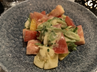 Old Compton Brasserie Heritage Tomato Salad