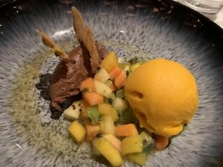 Old Compton Brasserie Chocolate Orange Mousse