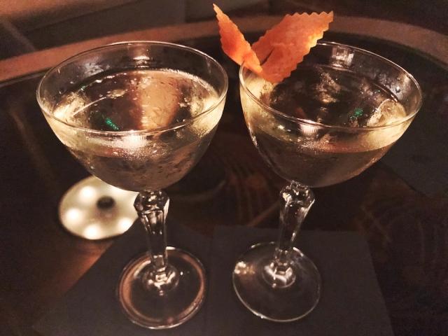 Fontaine's new martini menu