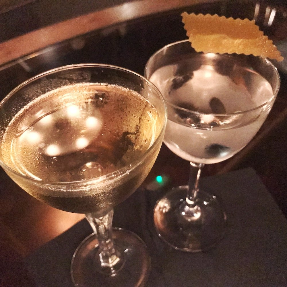 Fontaine's new martini menu