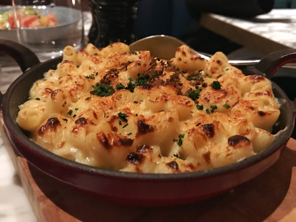 Old Compton Brasserie Truffle Mac and Cheese