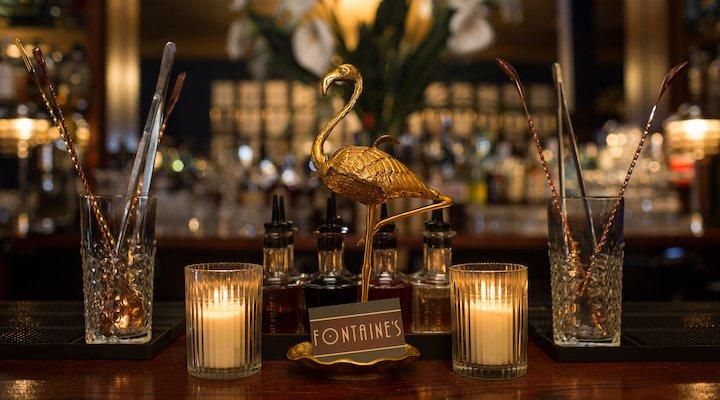 Fontaine's Bar London martini menu