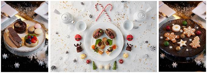 London where to eat November Festive Afternoon Tea Nobu