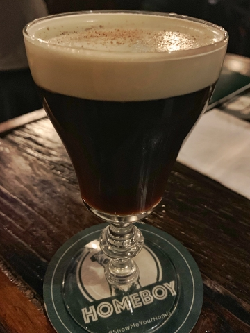 Homeboy Irish Coffee