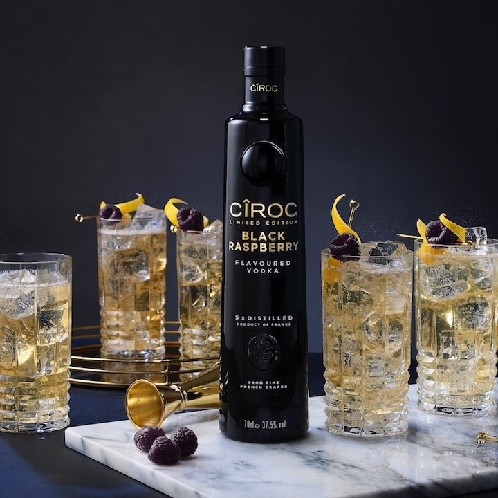 CÎROC Black Raspberry cocktails
