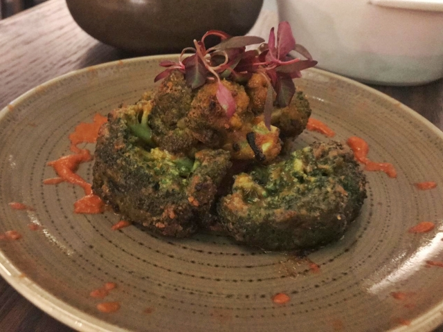 Kahani restaurant - vegan menu - Chelsea London