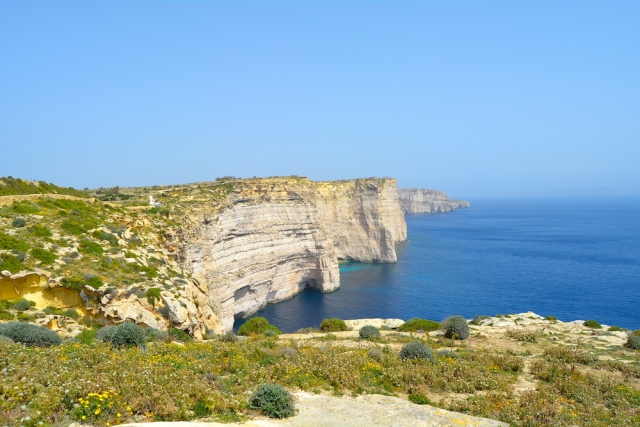LGBT Travel Guide Malta Sanap Cliffs