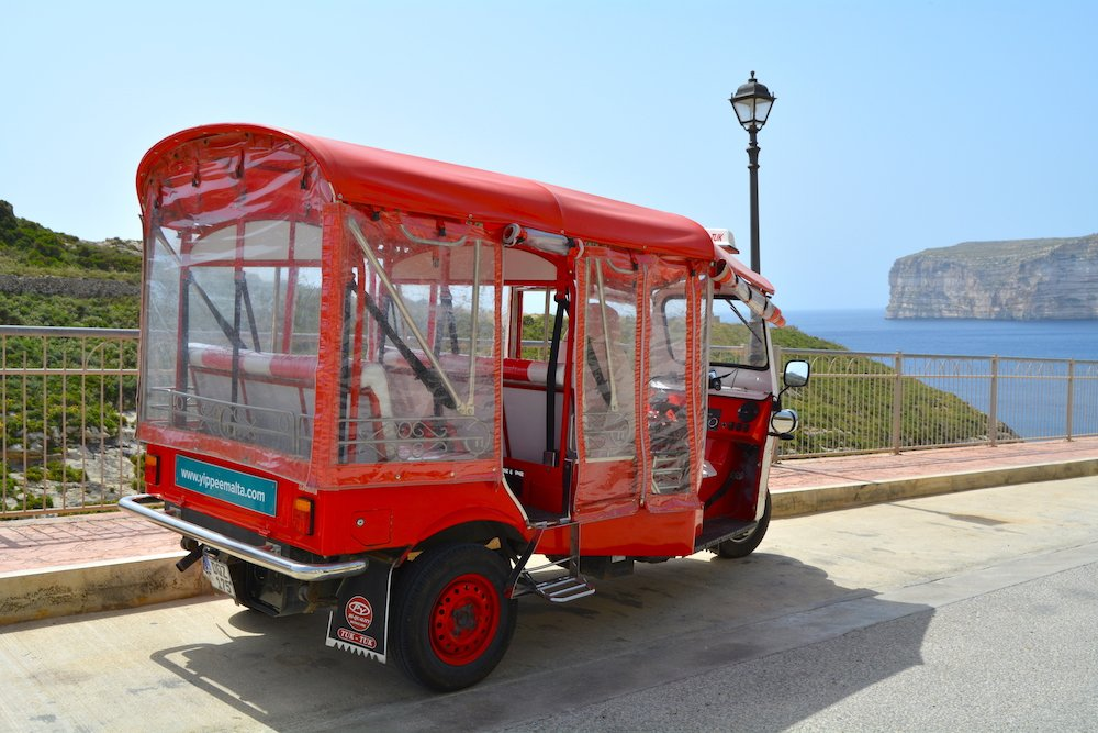 LGBT Travel Guide Malta Gozo TukTuk