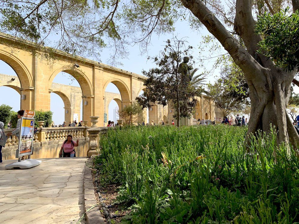 LGBT Travel Guide Malta Upper Barrakka Gardens