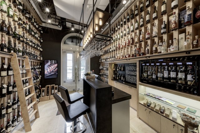 Hotel Kempinski Vilnius Atelier Wine Boutique and Tasting Bar